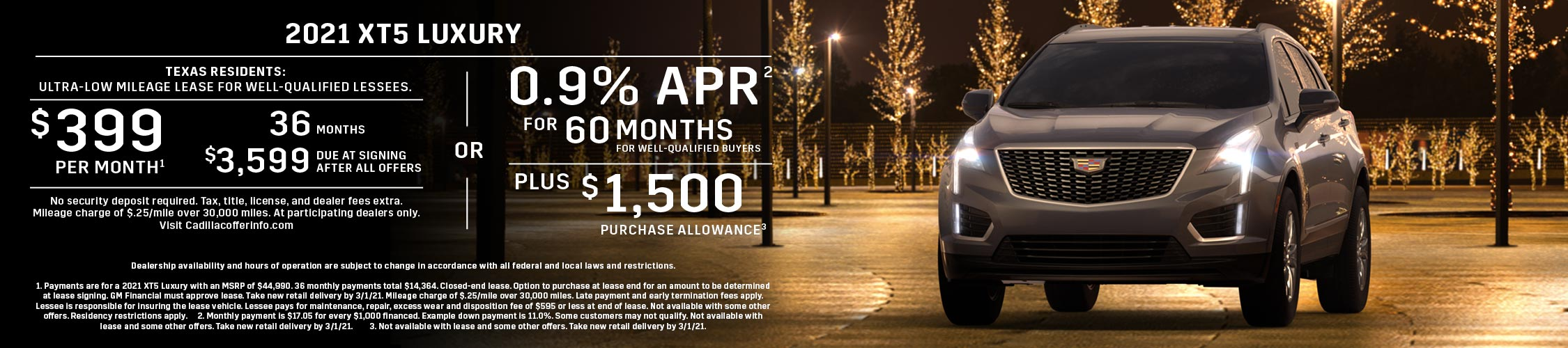 2021 XT5 Luxury: Lease or APR Offer (Image) - 4a43d1