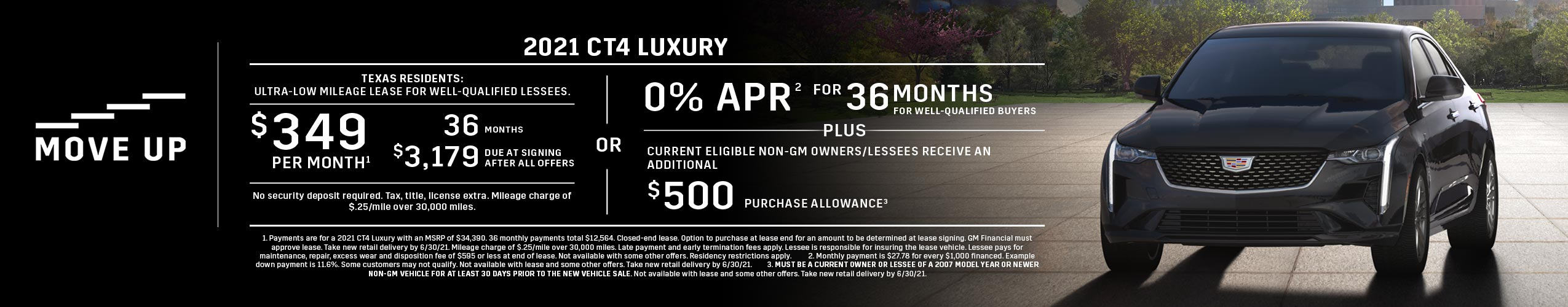 2021 CT4 Luxury: Lease or APR Offer (Image) - cbb192
